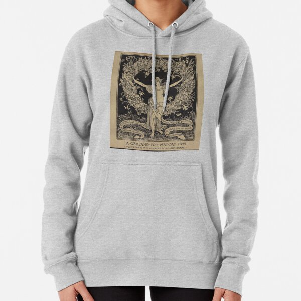 A Garland for May-Day Pullover Hoodie