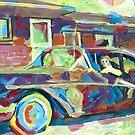 Grandma is Here! Classic car Picture by RD Riccoboni by RDRiccoboni