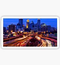Minneapolis Saturday Night Sticker