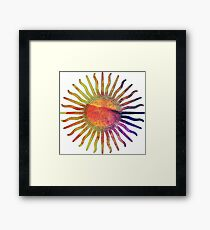 Le Sol Framed Print