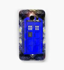 TARDIS CLASSIC LONDON POLICE BOX 1 Samsung Galaxy Case/Skin