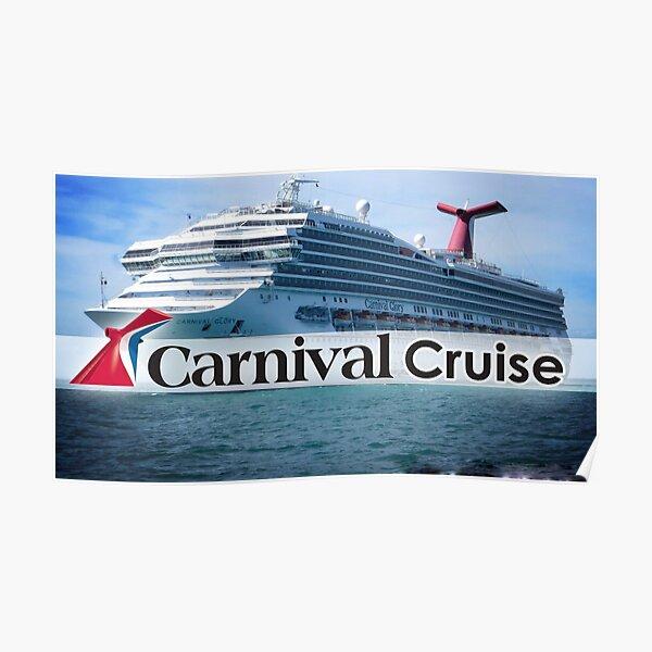 Carnival Cruise Ship Poster