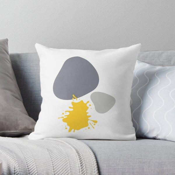 Rock solid optimism Throw Pillow