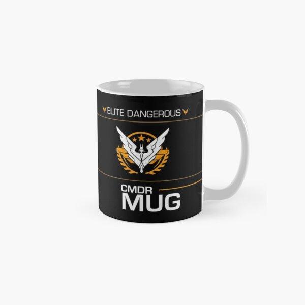 Elite Dangerous - COMMANDER - Triple Elite Classic Mug