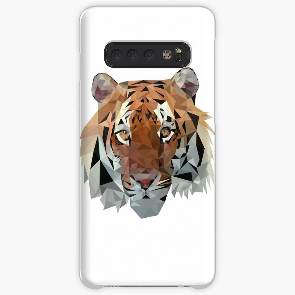 Geometric Tiger Case & Skin for Samsung Galaxy