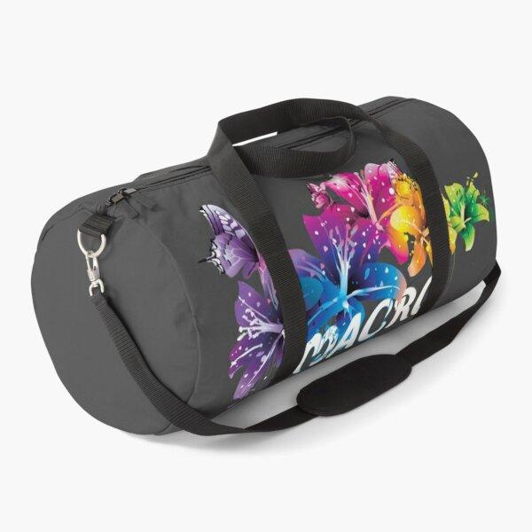 Macro Flower Art Duffle Bag