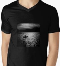 BANTAM LAKE EVENING WITH RAIN IN THE HILLS T-Shirt