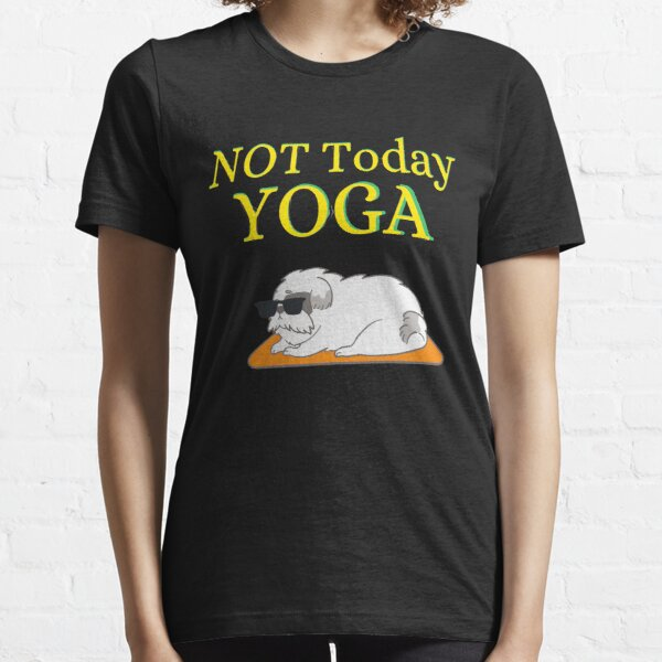 Morning Yoga with my Dog Essential T-Shirt