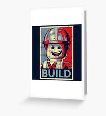 BUILD Greeting Card