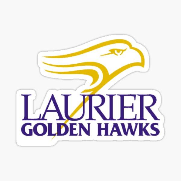 Laurier Golden Hawks Sticker