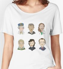 bbc sherlock cast Women's Relaxed Fit T-Shirt