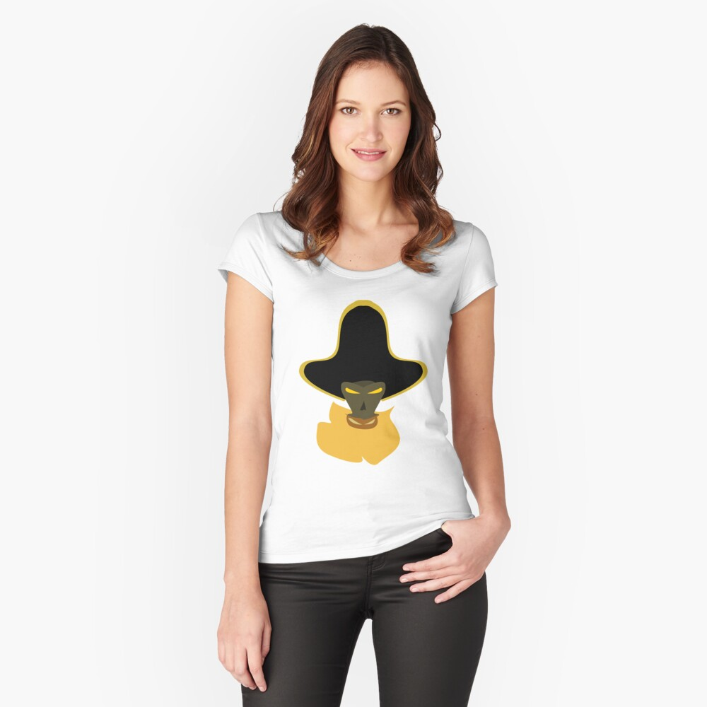 LeChuck Women's Fitted Scoop T-Shirt Front