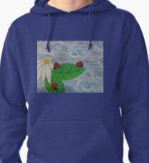 Love Bugs by Diamante Lavendar Pullover Hoodie