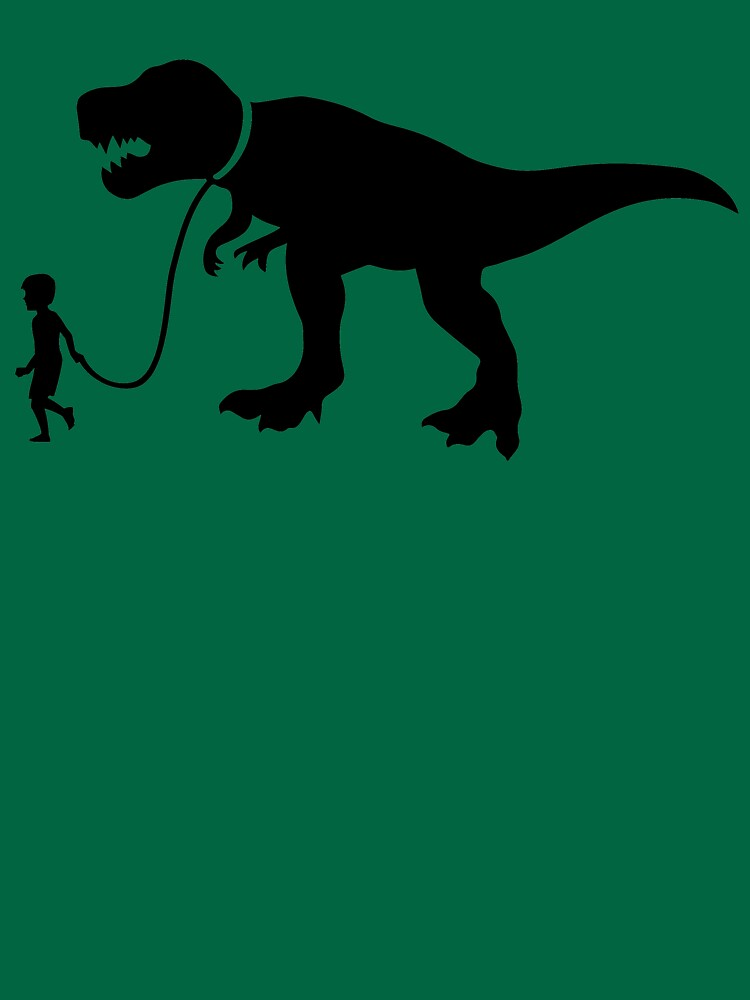 Walk the Dinosaur Silhouette Tyrannosaurus rex by BOLD-Australia