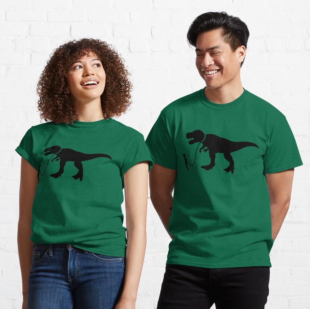 Walk the Dinosaur Silhouette Tyrannosaurus rex Classic T-Shirt