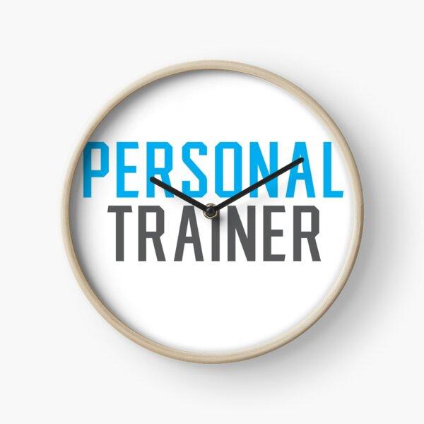 personal trainer Clock
