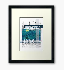 """Monkey Island's: """"From Melee to Monkey and all the islands in between, my love..."""" Framed Print"""