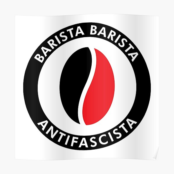 Barista Antifascista Póster
