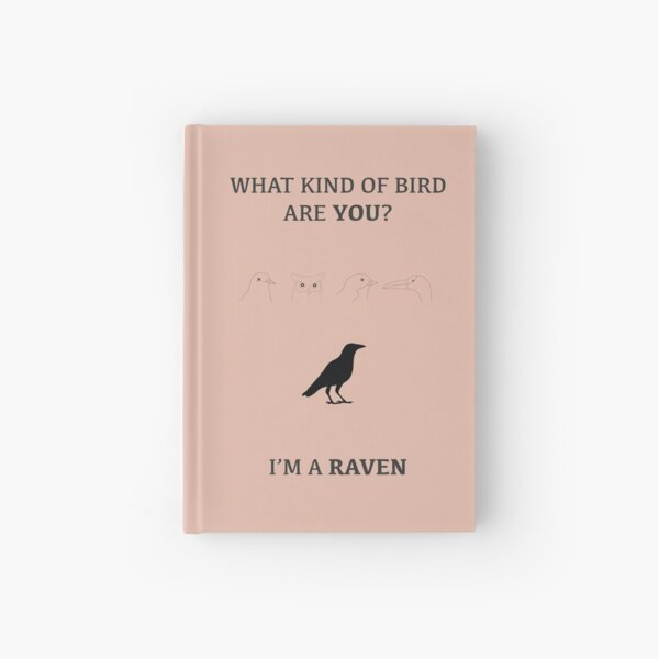 What Kind of Bird are You? Book & Phone Cases Hardcover Journal