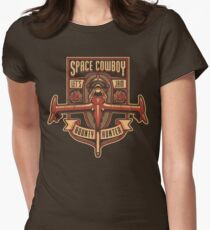 Space Cowboy - Bounty Hunter Women's Fitted T-Shirt