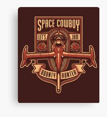 Space Cowboy - Bounty Hunter Canvas Print