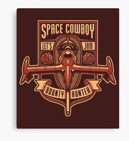 Space Cowboy - Bounty Hunter Canvas Print