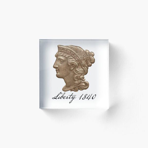 Liberty 1840 Acrylic Block