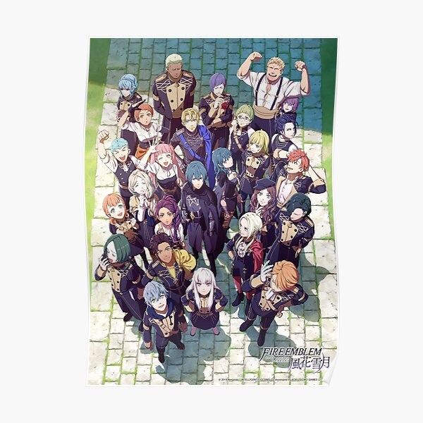 Fire Emblem Three Houses Poster Poster