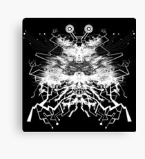 Cybermoth Canvas Print