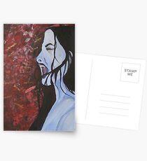 Silent Scream Postcards