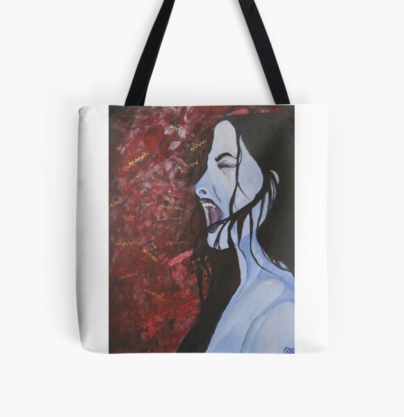 Silent Scream All Over Print Tote Bag