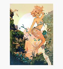 Rose Mermaid Photographic Print