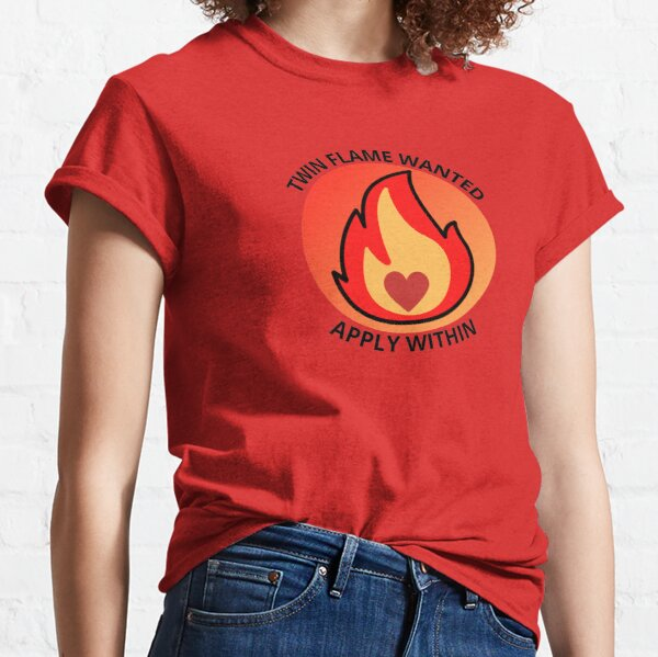 TWIN FLAME WANTED APPLY WITHIN Classic T-Shirt