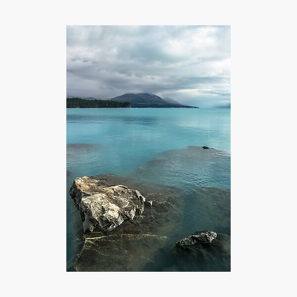 Lake Pukaki, New Zealand Photographic Print