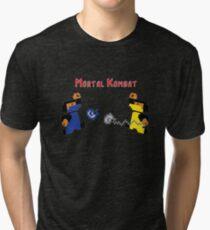 Retro Mortal Kombat Tri-blend T-Shirt