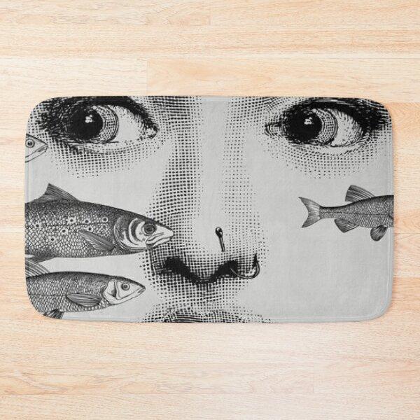 Fornasetti Fishes Bath Mat