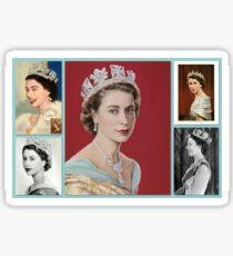 Königin Elizabeth II ~ Diamant-Jubiläum Sticker