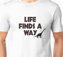 Jurassic Park - Life Finds a Way Unisex T-Shirt