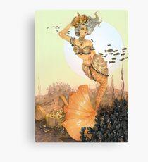 The queen mermaid Canvas Print