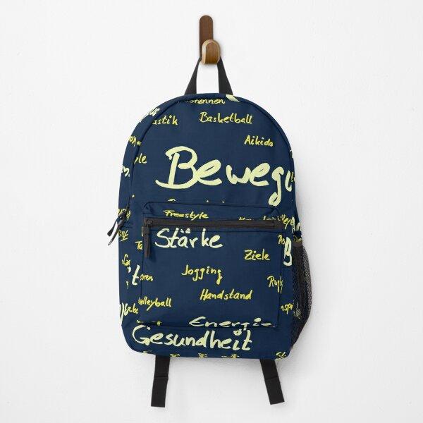 I LOVE SPORT, FUN, EXERCISE Backpack