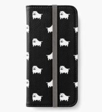 Undertale Annoying Dog - Black iPhone Wallet/Case/Skin