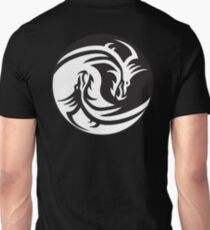 Dragon, Yin Yang, Doctormo, Dring, Drang, Eastern, T-Shirt