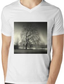 Weeping Willow Mens V-Neck T-Shirt
