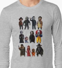 Icons of Horror Long Sleeve T-Shirt