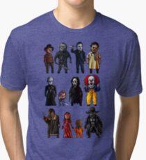 Icons of Horror Tri-blend T-Shirt