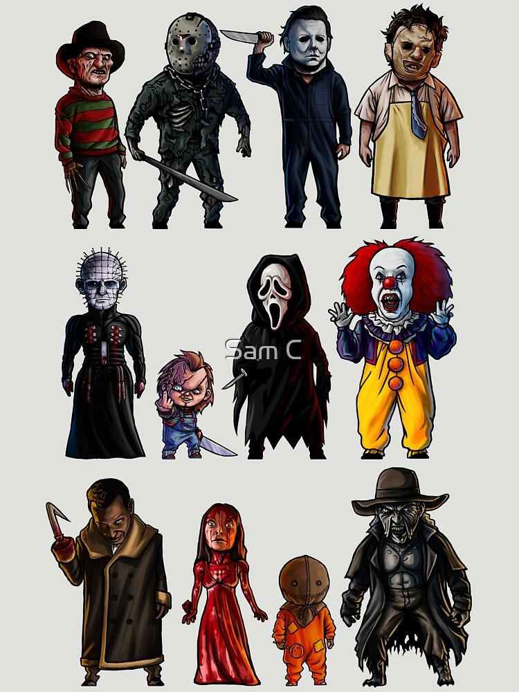 TShirtGifter presents: Icons of Horror | Unisex T-Shirt