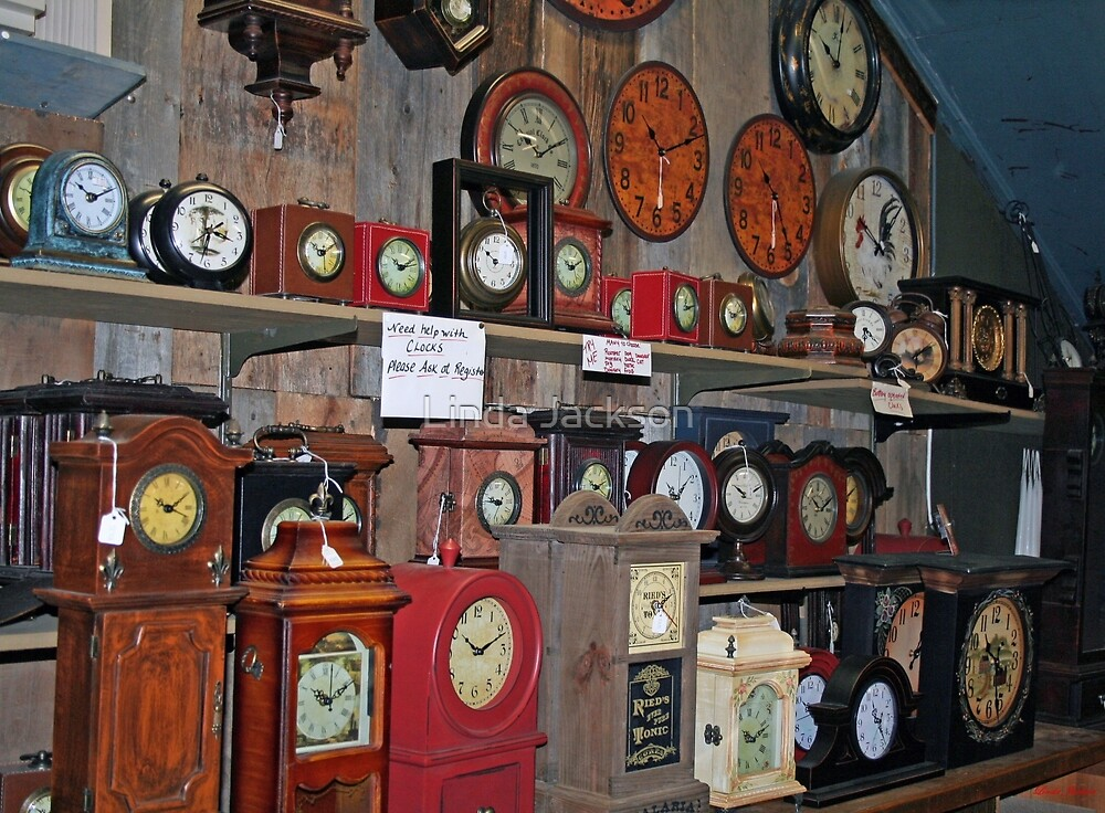 What time is it? by Linda Jackson