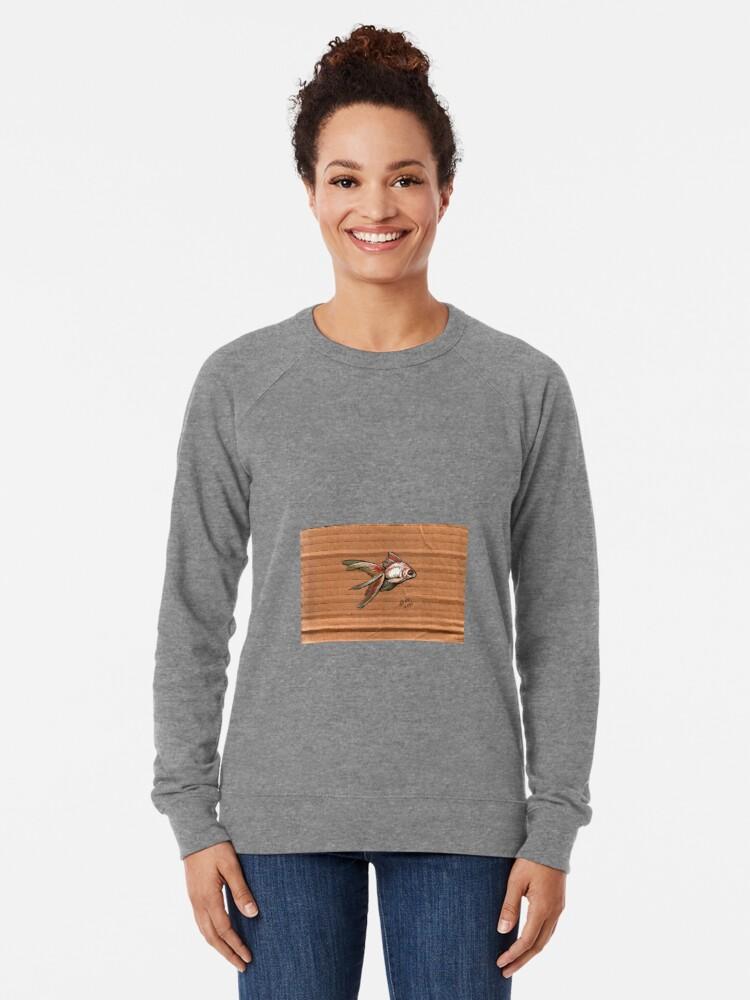 Alternate view of Brockelhurst #2 Lightweight Sweatshirt