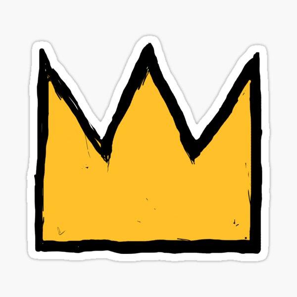 Jean Crown Sticker