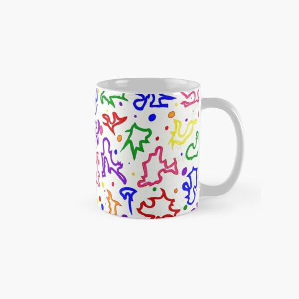 """Killer Clown Print"" Classic Mug"